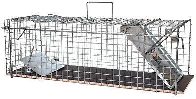 80x28x28cm große Marderfalle Lebendfalle Kaninchenfalle Tierfalle Drahtfalle 8