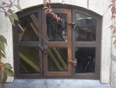 """Stallfenster , Fenster , Eisenfenster,Gussfenster mit Tür  ! Remise """"Theo"""" 2"""