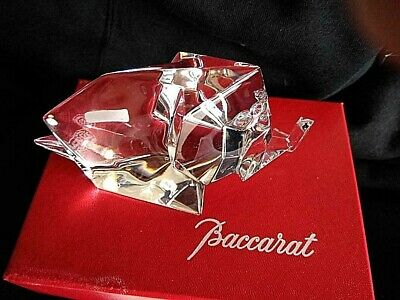 Baccarat  Crystal Origami Elephant Sculptures/Figurines 4