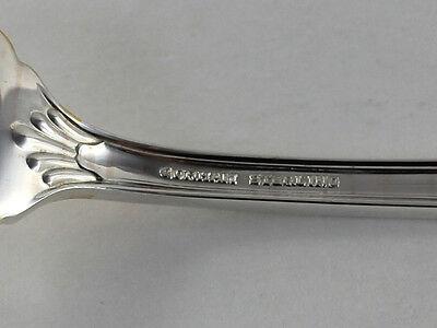 Gorham Edgemont Gold Sterling Silver Dinner Fork No Monogram 7 3//4 Inches