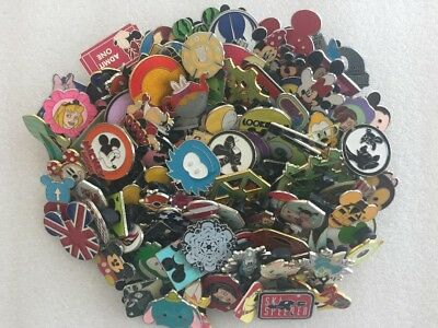 Disney Pins lot of 80 pins-No Duplicates 100% Tradable Fast Shipping-US Seller