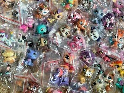 Littlest Pet Shop Mixed Lot 12 Pc Surprise Random Pet Figures Authentic LPS 3