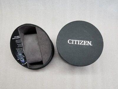 Citizen Avion Eco-Drive Black Dial Date Black Leather Men's Watch Aw1361-01E New 7