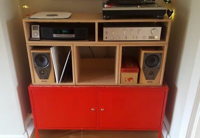 The Original 12'' Vinyl Record Storage Cube Dj Furniture Unit **Special Offer** 6