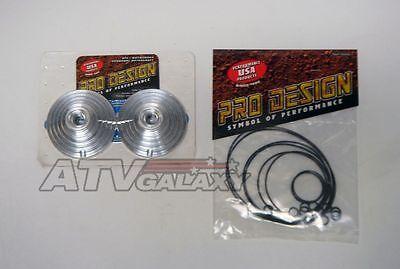 Yamaha Banshee 66 66mm Pro Design Cool Head 19 19cc Billet Domes /& O-rings Kit
