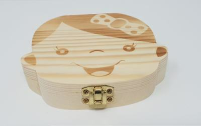Box Scrigno In Legno Porta Dentini Da Latte Per Femmina Portadentini Bambina 4