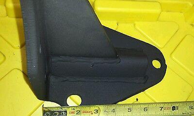 2 Shelf Brackets old vintage heavy duty steel mantelcounter support 5