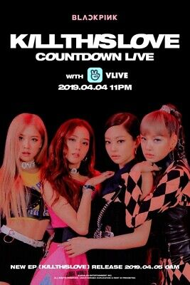 BLACKPINK [KILL THIS LOVE] 2nd Mini Album CD+POSTER+PBook+Card.F.Poster+etc+GIFT 4