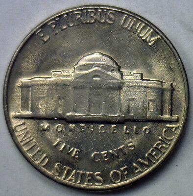 1965 United States BU Jefferson Nickel $2 Coin Tube Brilliant Uncirculated