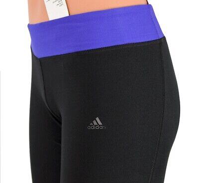 Adidas Mädchen Trainingshose Sport Hose Legging Laufhose Jazz Pant Tight schwarz 2