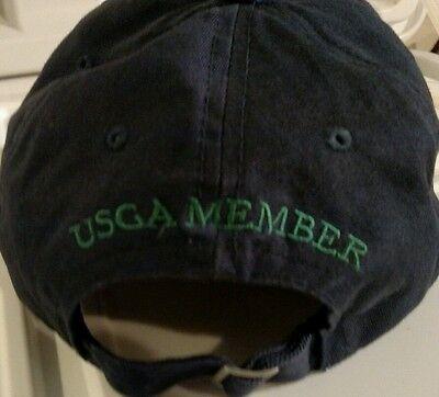 ... 2008 US OPEN TORREY PINES GOLF Hat Navy Blue Green Vintage USGA Member  Cap 5 03dee6c30a99
