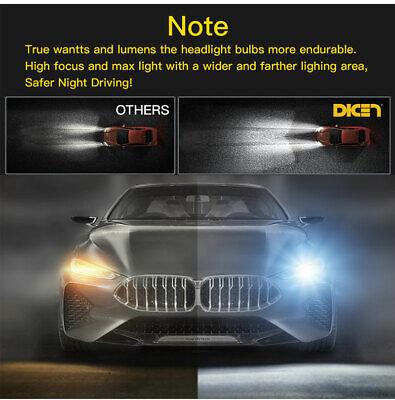 4-Side H11 LED Headlight H8 H9 Kits 2800W 380000LM Bulbs Power 6000K White Best 3