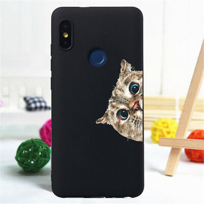 For Xiaomi Redmi 4X 5 Plus Note 5 6 7 8 Pro Case Silicone Painted Slim TPU Cover 9