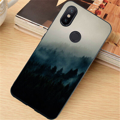 For Xiaomi Redmi 4X 5 Plus Note 5 6 7 8 Pro Case Silicone Painted Slim TPU Cover 3