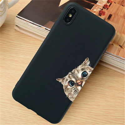 For iPhone 11 Pro XR XS Max SE 6S 7 8 Plus Case Silicone Painted Slim TPU Cover 6