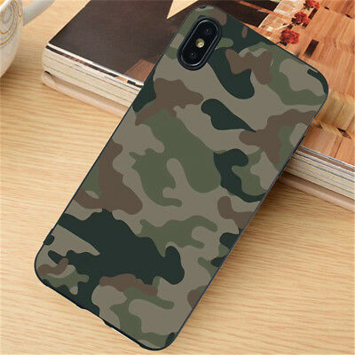 For iPhone 11 Pro XR XS Max SE 6S 7 8 Plus Case Silicone Painted Slim TPU Cover 3