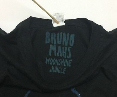 Authentic Bruno Mars Tour Merch 2013 RARE Pop star 90s Funk Moonshine Jungle Fan 3