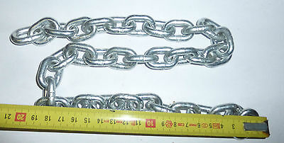 Eisenkette Kette Eisen Stahlkettefür Bastler- kurzes Ende 2