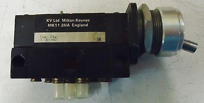Kay Valve Model# Kv646 Kv Ltd Milton Keynes Mkii 3Ha England P. Max 8 Bar 2