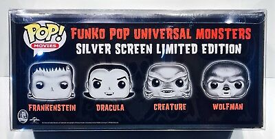 1 Box Protector For FUNKO POP! 4 PACKS   READ!  Clear Custom Made Display Case 4