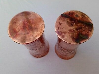 Arts & Crafts pair of Copper vases - believed to be Keswick KSIA 8
