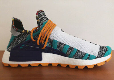 ADIDAS PHARRELL WILLIAMS SOLAR HU NMD HUMAN RACE UK 5 9 afro