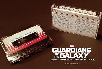 Guardians Of The Galaxy Awesome Mix Vol.1 Cassette Tape 3