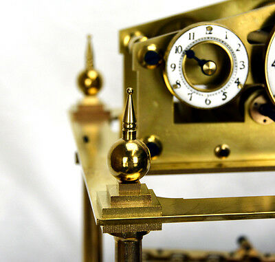 Mystery 8 DAY Fusee Chain English Congreve Rolling Ball Clock with BELL STRIKING 9