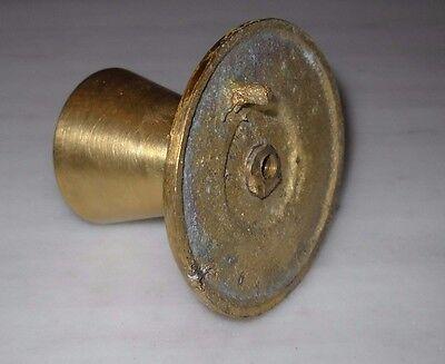 Greece Vintage solid brass door knob handle D9 3