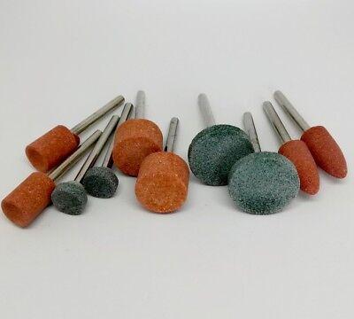 10Pcs Ceramic Stone Polishing Grinding for Dremel Rotary Die Grinder tool bit 8