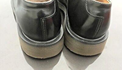 Dr Martens 1462 black leather shoes UK 10.5 EU 45.5 Made in England 6