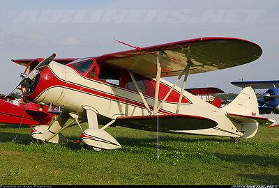 SCALE WACO E Cabin Biplane 52