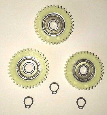 Seegerringe 8mm 36 Zähne Satz: Ersatzzahnräder für Bafang-Nylon Dichtring