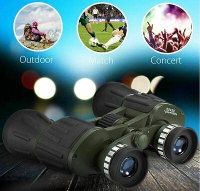 60x50 Day/Night Military Army Zoom Optics Hunting Camping Powerful Binoculars 11