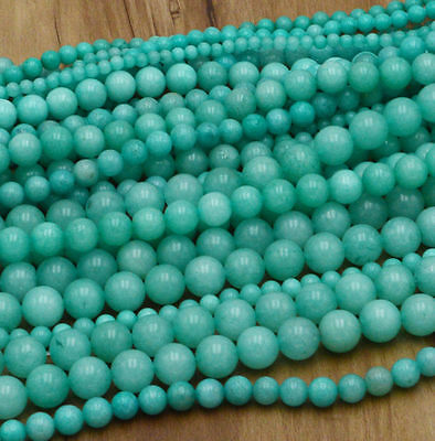 New Wholesale Natural Gemstone Round Spacer Loose Beads 4MM 6MM 8MM 10MM 12MM 8