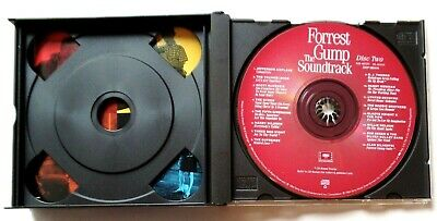 Forrest Gump The Soundtrack 32 American Classics on 2 CD's 1994 Sony 5