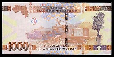Guinea  1000 Francs  2017  Pick 48b  UNC = SC 3