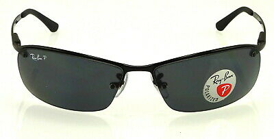 ce70ecdc0e403 ... Ray-Ban Top Bar Rb3183 002 81 63Mm Black   Polarized Grey Gradient 2