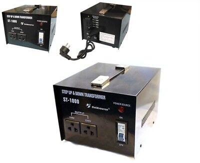 Transformador De Corriente De 220V A 110V Y 110-220V Potencia 1000W Convertidor 3