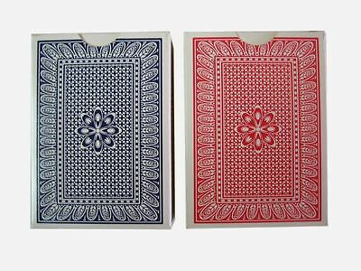 2 Decks of Professional Plastic Coated Playing Cards Poker Size- Various Colours 3