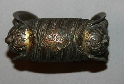 Antique Greek Crusader Bronze Fertility Hand Made Bracelet