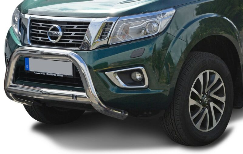 Frontschutzbügel  Nissan Navara NP300 (2016-) Frontbügel Edelstahl NEUES MODELL
