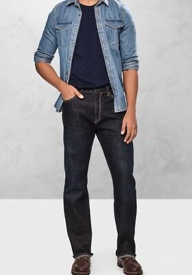 NWT Gap Jeans in Relaxed Fit, Dark Resin, 34x30 7