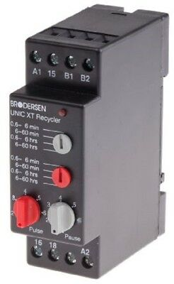 Brodersen Systems XT-D1.H Multi Function Timer Relay, Screw, SPDT 1 Contacts-New 2