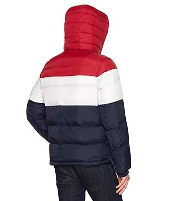 New Tommy Hilfiger Men's Ultra Loft Insulated Classic Hooded Puffer Jacket Coat