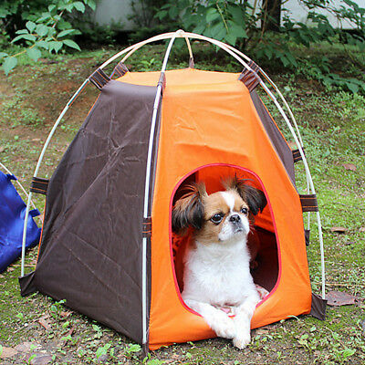 Portable Pet Tent Puppy Dog Pet Cat Outdoor Camping Sun Shelter Waterproof House 2