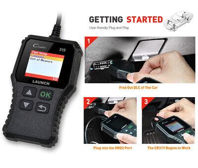 Launch CR319 Profi OBD2 Diagnosegerät Tool Auto KFZ Scanner Fehlerauslesegerät 10