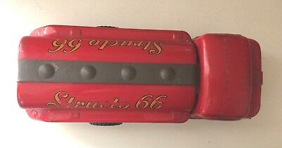 Vintage Pressed Steel Toys -Structo 66- Truck Toyland Oil/ Gas 1950'S Red 5