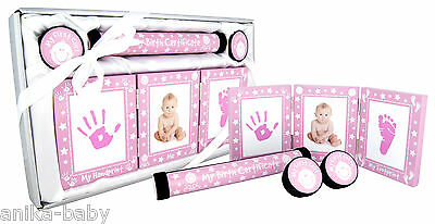 New Baby Keepsake Gift Set Christening Present Boy Girl - Silver Pink Blue Gold 4