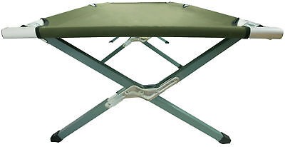 VIVO Green Camping Cot, Fold up Bed, Military Style Cot, Carrying Bag Included 7